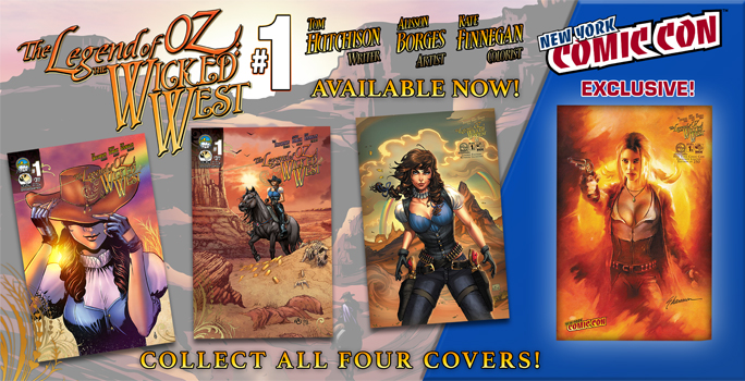 Legend of OZ: The Wicked West Remastered In Stores NOW!